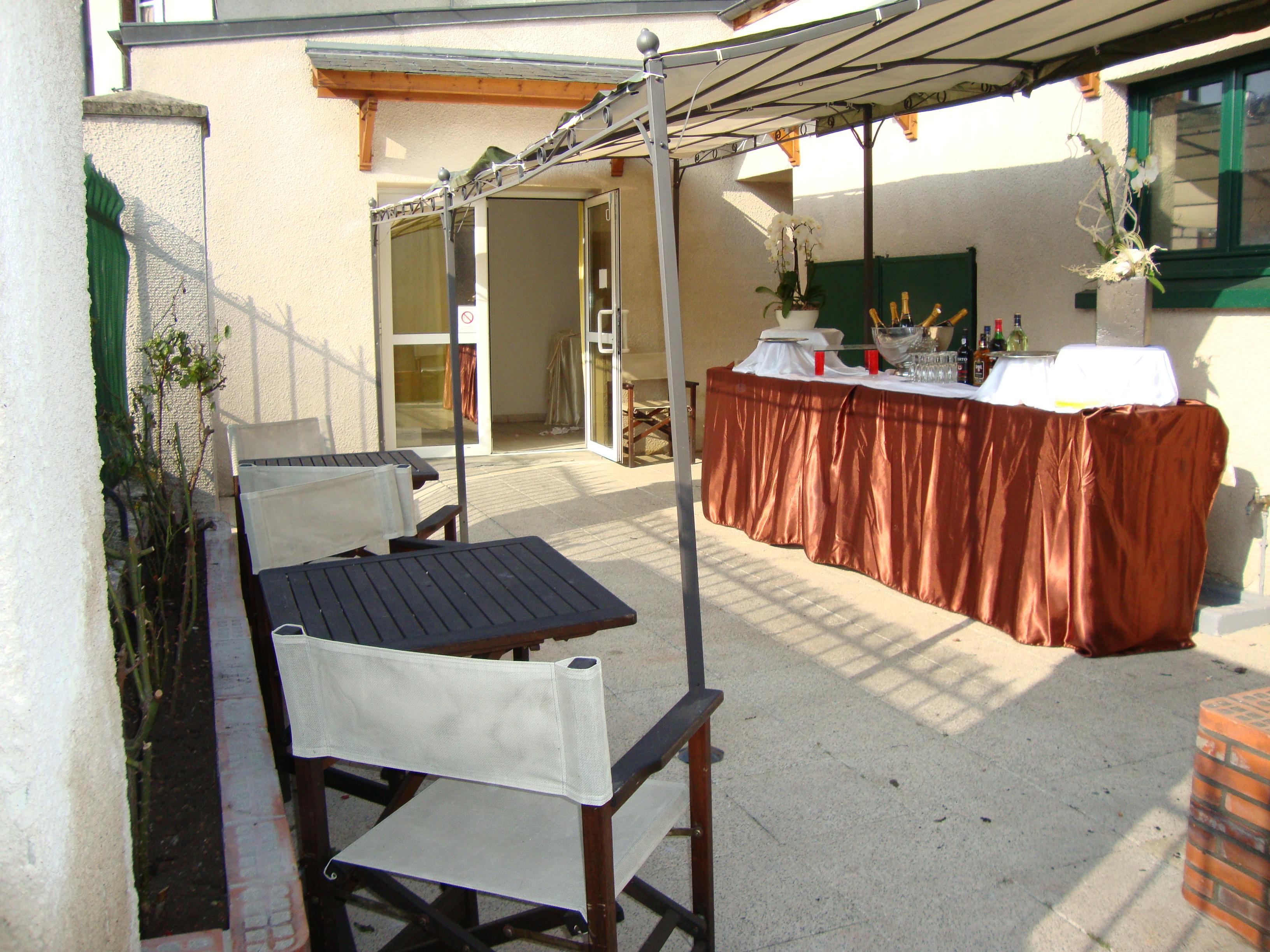 Terrasse de la Salle Michelet
